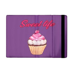 Sweet Life Apple Ipad Mini Flip Case by Valentinaart