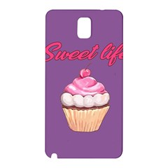 Sweet Life Samsung Galaxy Note 3 N9005 Hardshell Back Case by Valentinaart
