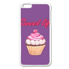 Sweet Life Apple Iphone 6 Plus/6s Plus Enamel White Case by Valentinaart