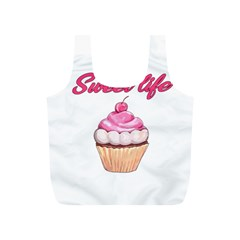Sweet Life Full Print Recycle Bags (s)  by Valentinaart