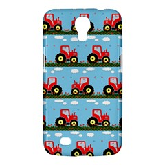 Toy Tractor Pattern Samsung Galaxy Mega 6 3  I9200 Hardshell Case by linceazul