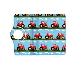 Toy Tractor Pattern Kindle Fire Hd (2013) Flip 360 Case by linceazul