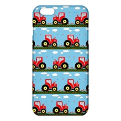 Toy Tractor Pattern Iphone 6 Plus/6s Plus Tpu Case by linceazul
