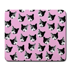 Cat Pattern Large Mousepads by Valentinaart