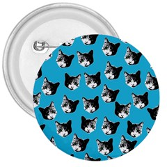 Cat pattern 3  Buttons by Valentinaart