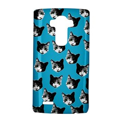 Cat Pattern Lg G4 Hardshell Case by Valentinaart