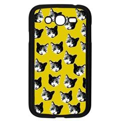 Cat Pattern Samsung Galaxy Grand Duos I9082 Case (black) by Valentinaart