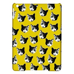 Cat Pattern Ipad Air Hardshell Cases by Valentinaart