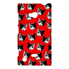 Cat Pattern Nokia Lumia 720 by Valentinaart
