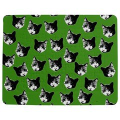 Cat Pattern Jigsaw Puzzle Photo Stand (rectangular) by Valentinaart