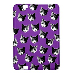 Cat Pattern Kindle Fire Hd 8 9  by Valentinaart