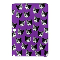 Cat Pattern Samsung Galaxy Tab Pro 12 2 Hardshell Case by Valentinaart