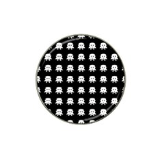 Emoji Baby Vampires Pattern Hat Clip Ball Marker by dflcprints