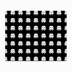 Emoji Baby Vampires Pattern Small Glasses Cloth by dflcprints