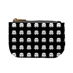 Emoji Baby Vampires Pattern Mini Coin Purses by dflcprints
