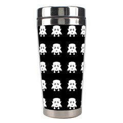 Emoji Baby Vampires Pattern Stainless Steel Travel Tumblers by dflcprints