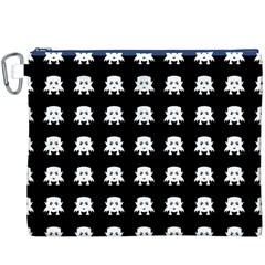 Emoji Baby Vampires Pattern Canvas Cosmetic Bag (xxxl) by dflcprints