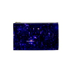 /r/place Indigo Cosmetic Bag (small)  by rplace