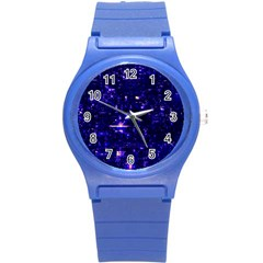 /r/place Indigo Round Plastic Sport Watch (s) by rplace