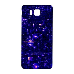 /r/place Indigo Samsung Galaxy Alpha Hardshell Back Case by rplace