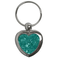 /r/place Emerald Key Chains (heart)  by rplace