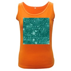 /r/place Emerald Women s Dark Tank Top by rplace