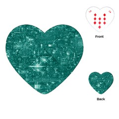 /r/place Emerald Playing Cards (heart)  by rplace