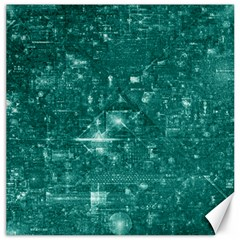 /r/place Emerald Canvas 20  X 20   by rplace