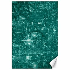 /r/place Emerald Canvas 20  X 30   by rplace