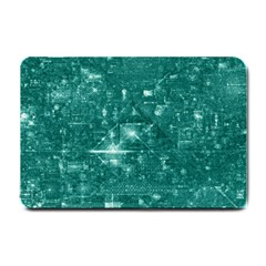 /r/place Emerald Small Doormat  by rplace