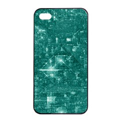 /r/place Emerald Apple Iphone 4/4s Seamless Case (black) by rplace