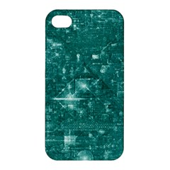/r/place Emerald Apple Iphone 4/4s Premium Hardshell Case by rplace