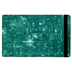 /r/place Emerald Apple Ipad 2 Flip Case by rplace