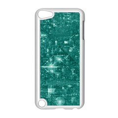 /r/place Emerald Apple Ipod Touch 5 Case (white) by rplace