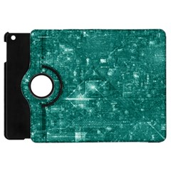 /r/place Emerald Apple Ipad Mini Flip 360 Case by rplace