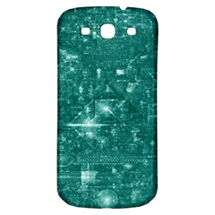 /r/place Emerald Samsung Galaxy S3 S Iii Classic Hardshell Back Case by rplace
