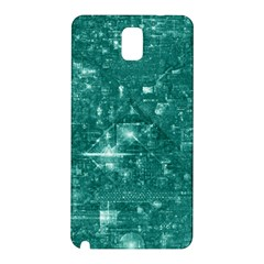 /r/place Emerald Samsung Galaxy Note 3 N9005 Hardshell Back Case by rplace