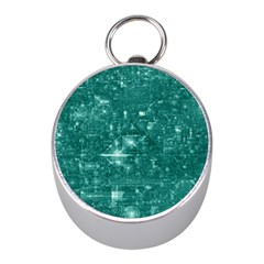 /r/place Emerald Mini Silver Compasses by rplace