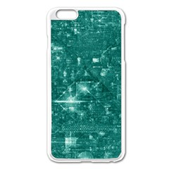 /r/place Emerald Apple Iphone 6 Plus/6s Plus Enamel White Case by rplace