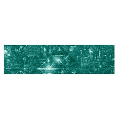 /r/place Emerald Satin Scarf (oblong) by rplace