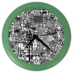 /r/place Retro Color Wall Clocks by rplace