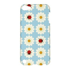 Ladybugs Pattern Apple Ipod Touch 5 Hardshell Case by linceazul