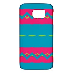 Blue green chains  HTC One M9 Hardshell Case by LalyLauraFLM