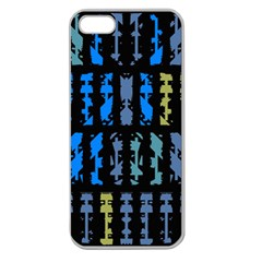 Blue Shapes On A Black Background  Samsung Galaxy Note 2 Hardshell Case by LalyLauraFLM