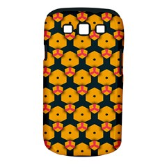 Yellow Pink Shapes Pattern   Samsung Galaxy S Ii I9100 Hardshell Case (pc+silicone) by LalyLauraFLM