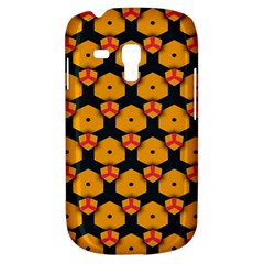 Yellow Pink Shapes Pattern   Samsung Galaxy Ace Plus S7500 Hardshell Case by LalyLauraFLM