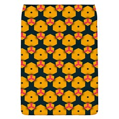 Yellow Pink Shapes Pattern   Samsung Galaxy Grand Duos I9082 Hardshell Case by LalyLauraFLM