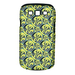 Black And Yellow Pattern Samsung Galaxy S Iii Classic Hardshell Case (pc+silicone) by linceazul