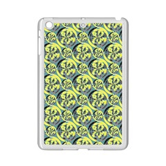 Black And Yellow Pattern Ipad Mini 2 Enamel Coated Cases by linceazul