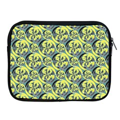 Black And Yellow Pattern Apple Ipad 2/3/4 Zipper Cases by linceazul